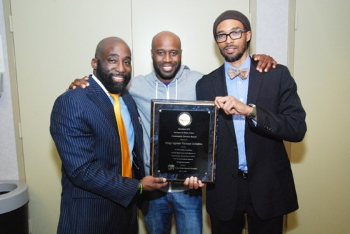 From Left: Russell Frederick, Bayete Ross Smith, Rob Gore