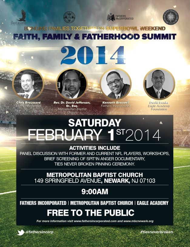Faith, Family Fatherhood Summit Flyer